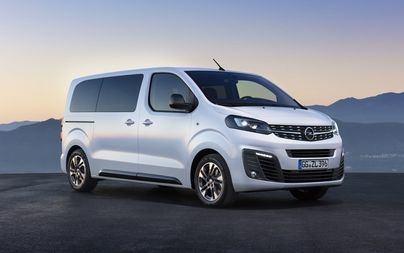New Opel Zafira Life Ready to Hit the Road